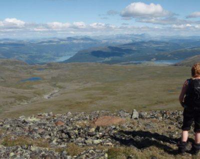 Retreat med lange fjellturer