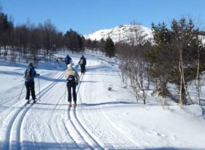 Vinter-retreat med skimulighet