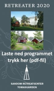 Knapp for å laste ned program 2020 som pdf-fil