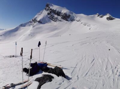 Innstilt - Retreat med ski til topps